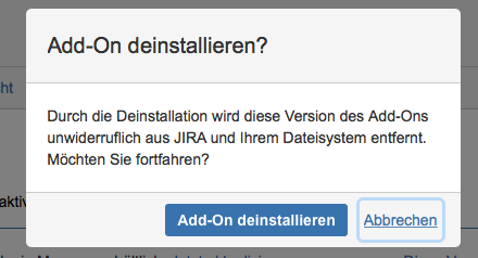Deinstallation von Agile Risk Management
